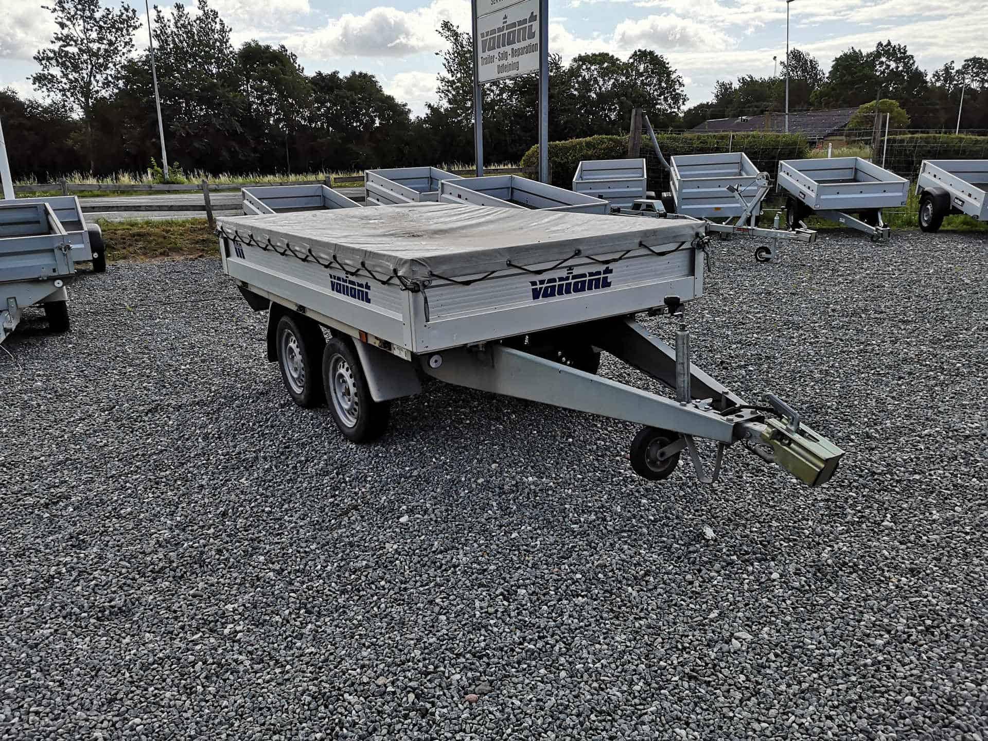 Variant 756 A Alu trailer - brugt - nysynset med 3 måneders garanti